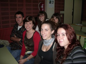 Ellos son los componentes del grupo 2, que está trabajando sobre Sir Francis Bacon.