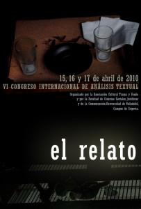 VI Congreso de Análisis Textual en Segovia, abril, 2010.